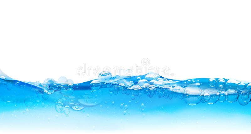 Water bubbles surface royalty free stock photography