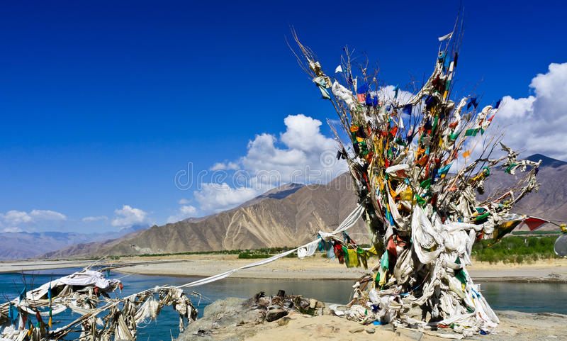 Download Water burial cemetery stock image. Image of china, river - 25184619