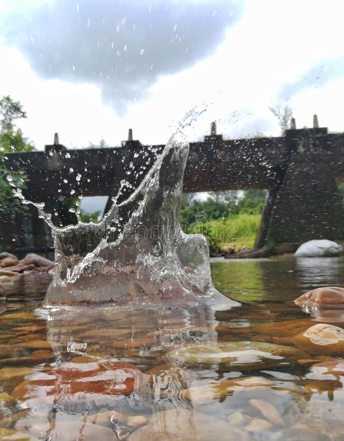 Water. Burst shot click royalty free stock image