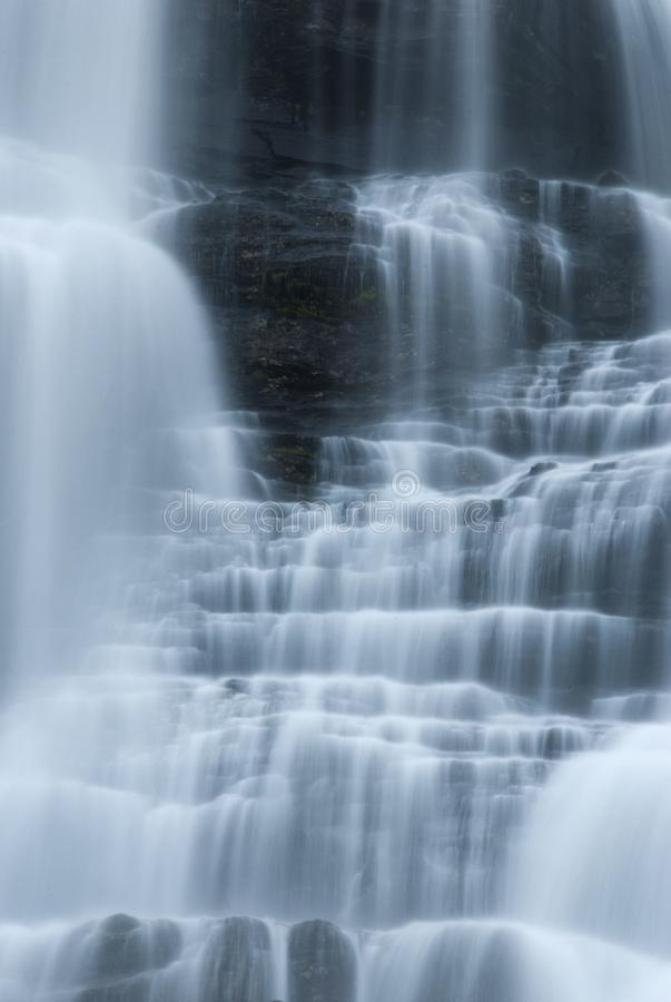 Water cascades royalty free stock image