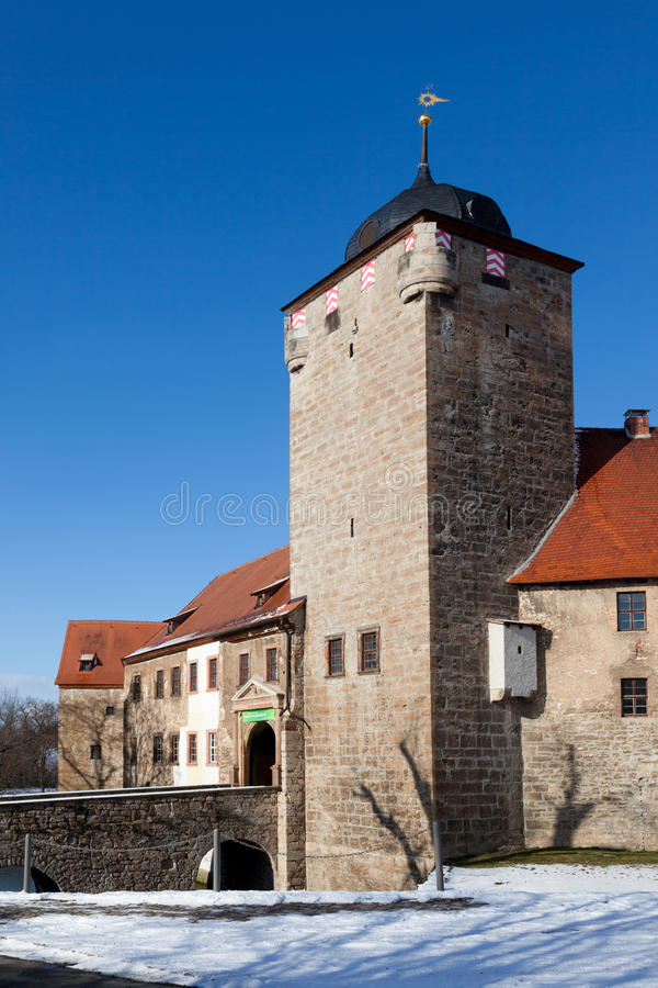Free Water Castle Kapellendorf Royalty Free Stock Photo - 60057965