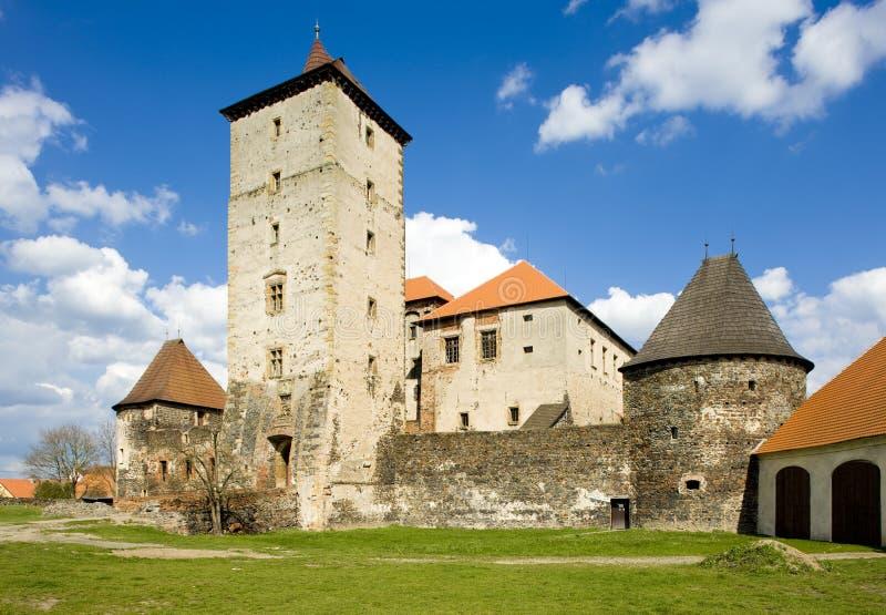 Water Castle Svihov, Czech Republic royalty free stock image