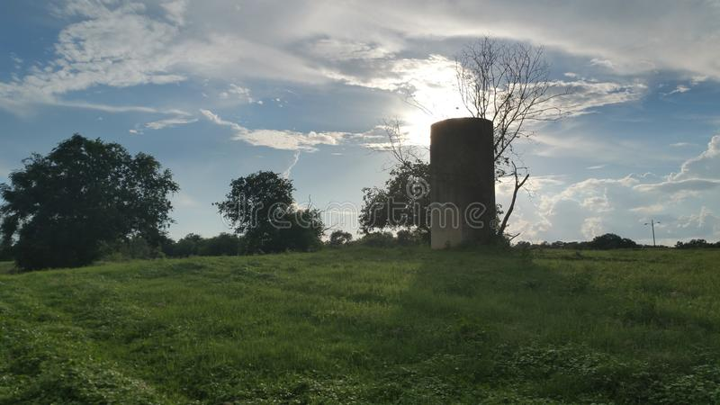Water Cistern in the park royalty free stock photos