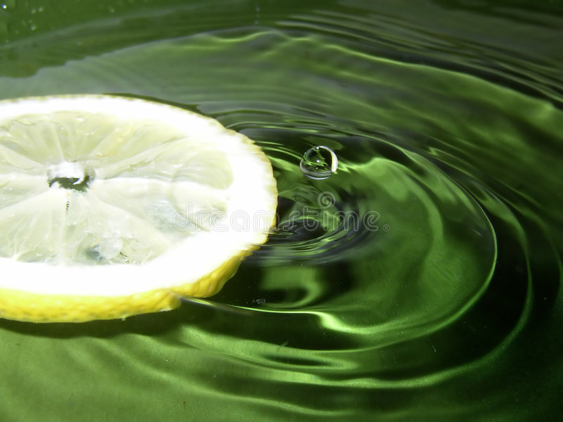 Water citron royalty free stock images