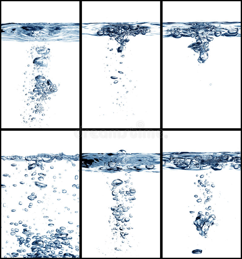 Download Water collage stock image. Image of clean, circle, free - 26252057