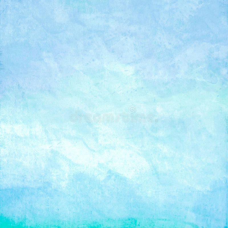 Free Water Color Like Sky On Old Paper Texture Stock Photos - 23958573