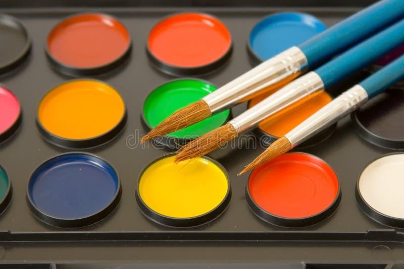Download Water-colour stockfoto. Bild von künstler, block, bunt - 9099778
