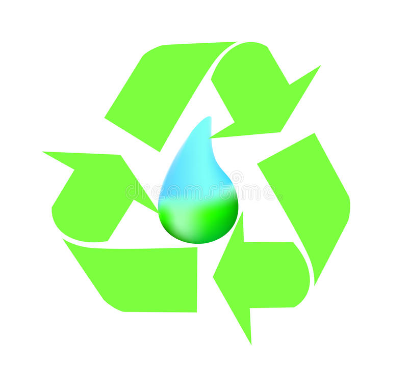 Download Water conservation stock vector. Image of recycling, ecology - 18539911