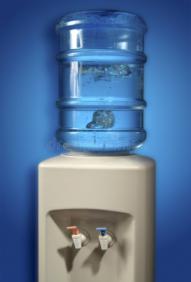 Download Water cooler. stock image. Image of dispenser, bubbles - 5565281