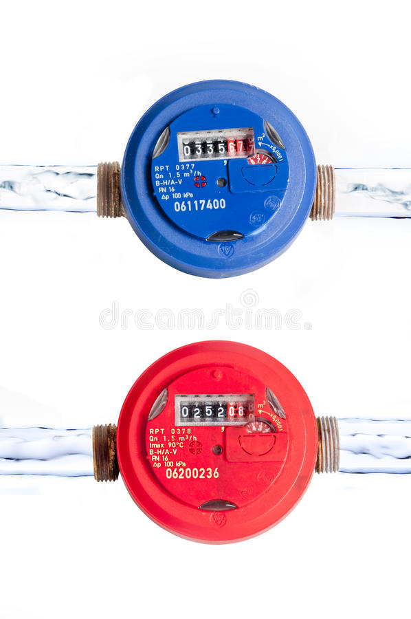 Water Counters Royalty Free Stock Photography