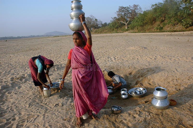 Download Water Crisis editorial photography. Image of sand, india - 25428307
