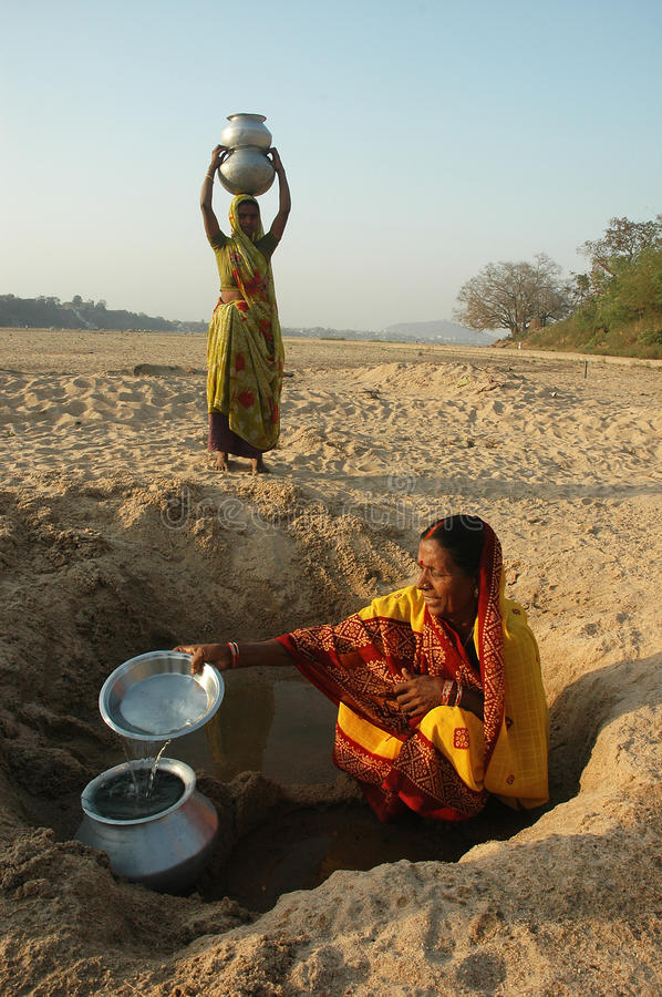 Free Water Crisis In India Royalty Free Stock Photos - 26713818