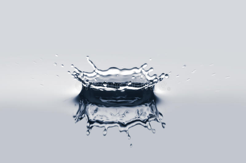 Download Water crown isolated stock image. Image of shape, blue - 24309589