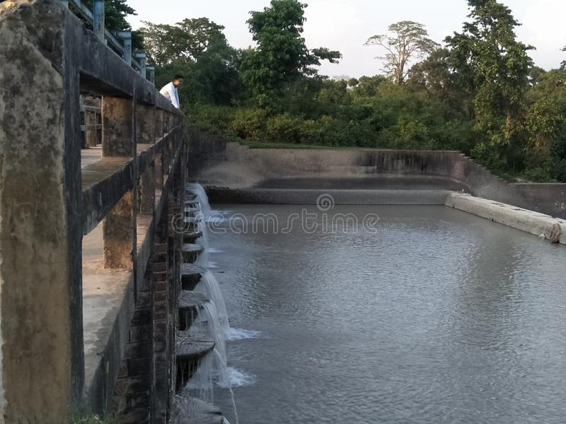 Water dam stock images
