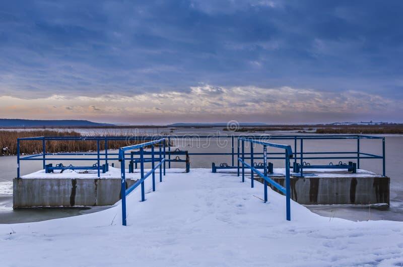 Water dam stock photography