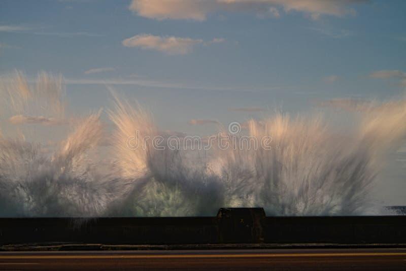 Water in de hemel royalty-vrije stock afbeeldingen