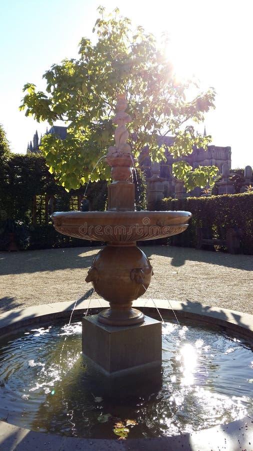 Water in de Zon royalty-vrije stock fotografie