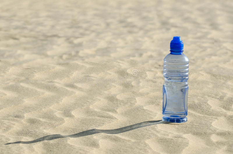 Water in the desert royalty free stock images