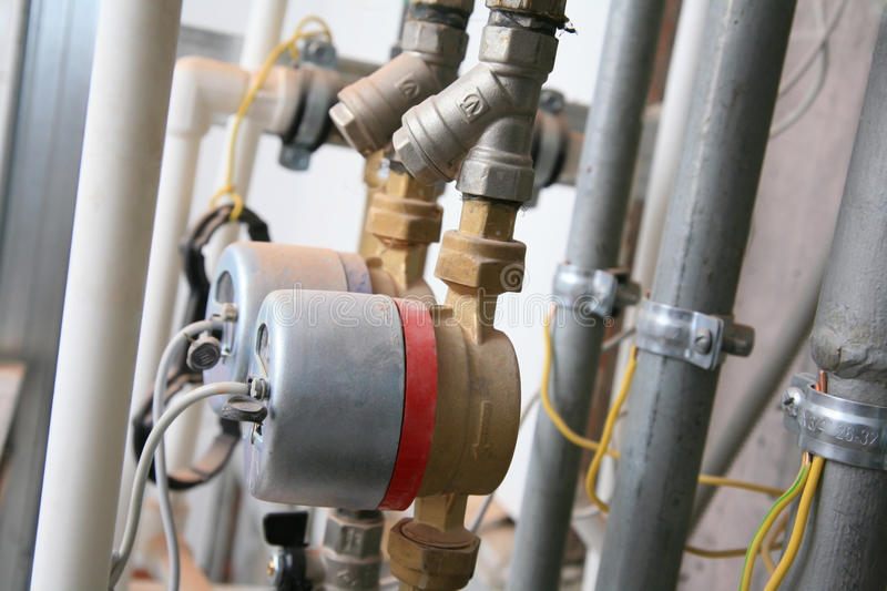 Water distribution system royalty free stock photography