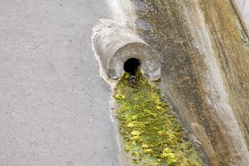 Download Water drain stock image. Image of concrete, leak, flow - 12961975