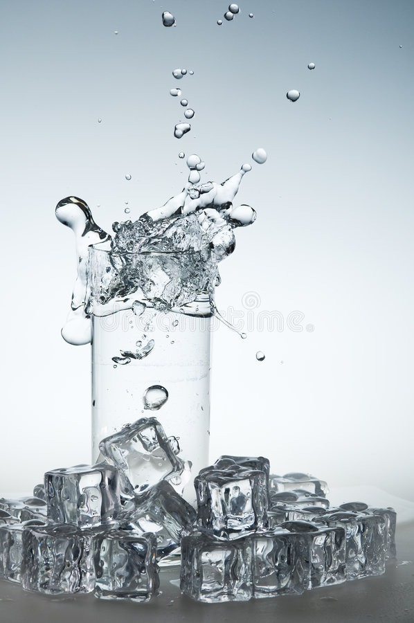 Download Water Drink Splashing Out From Glass Stock Images - Image: 5993114