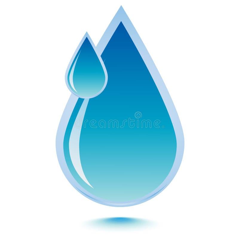 Water drop royalty free illustration