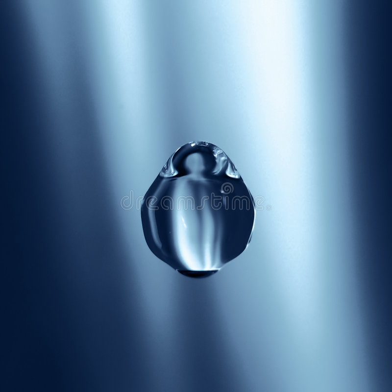 Download Water drop stock photo. Image of blue, fresh, cold, wave - 13716