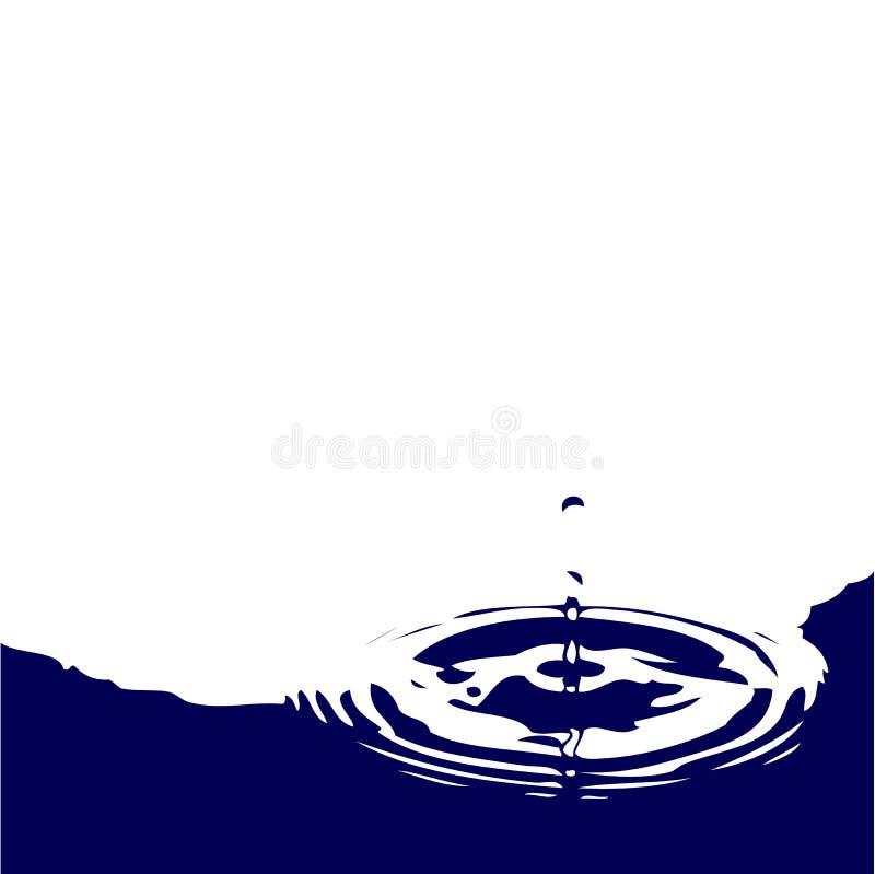 Download Water drop stock illustration. Image of design, rotating - 23753883