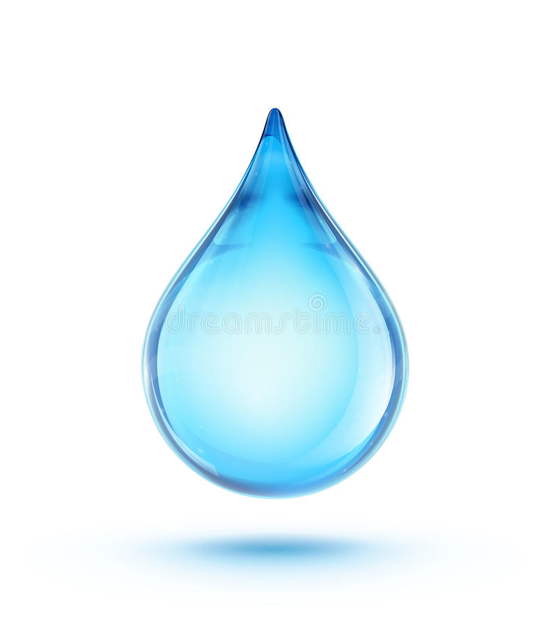 Download Water drop stock vector. Image of energy, environmental - 27590565