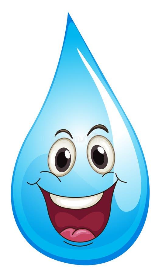 water drop stock illustration illustration of concept