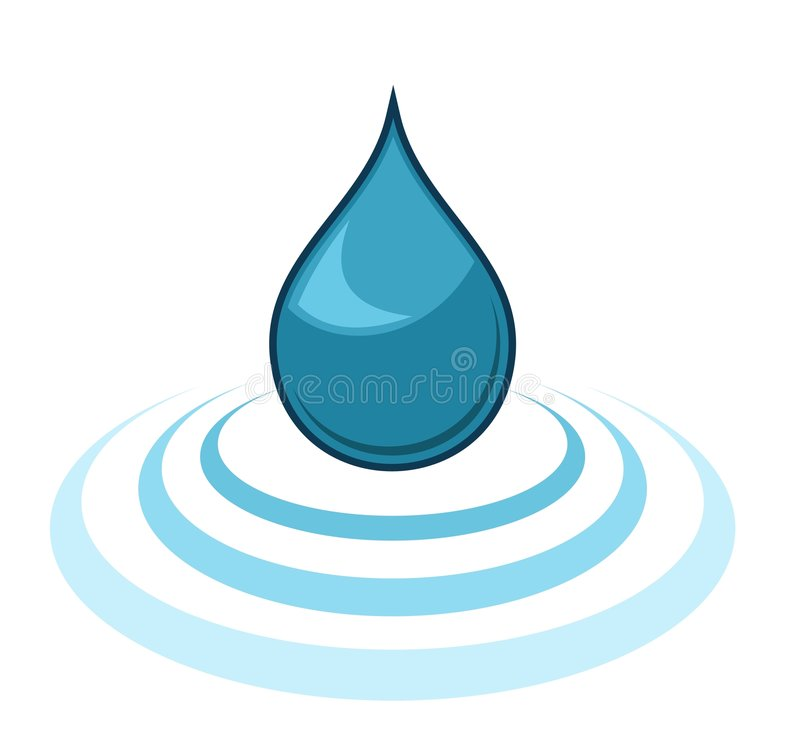Download Water Drop stock vector. Image of dirty, natural, condensation - 5743650
