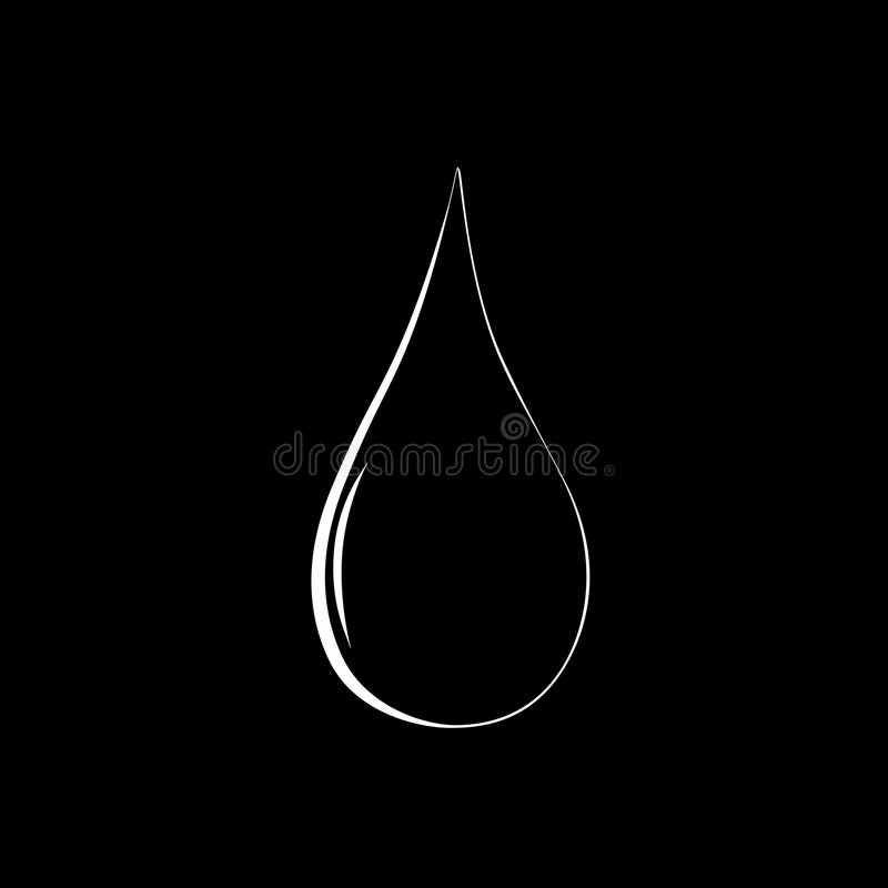 Download Water Drop. Royalty Free Stock Images - Image: 8688469