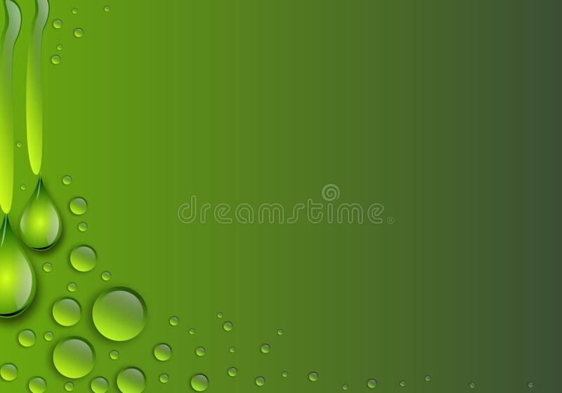 Water Drop background vector illustration