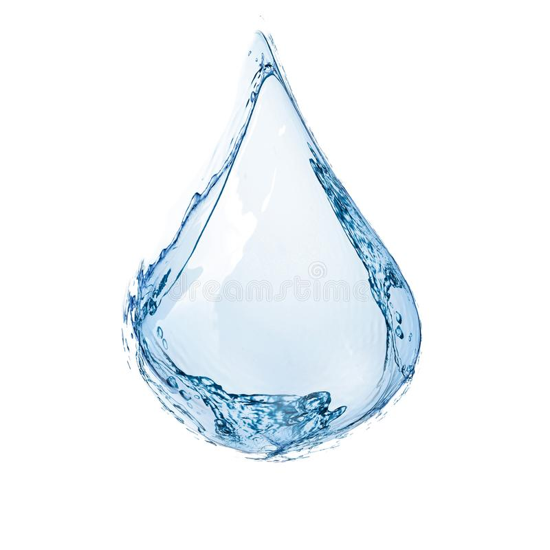 A Water drop. 3D illustration royalty free stock image