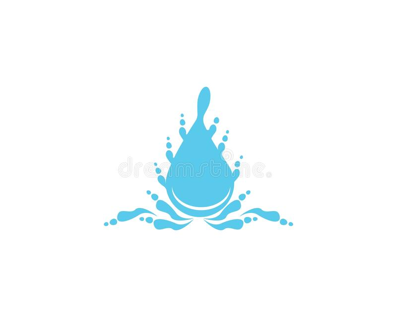 Water drop icon and symbol vector illustration vector illustration