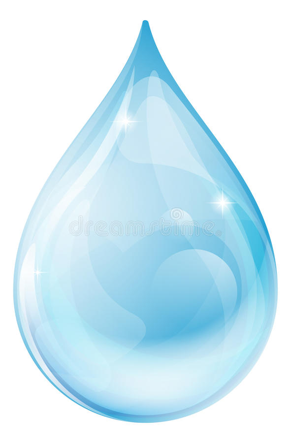 Water drop vector illustration