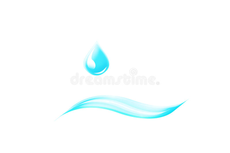 Download Water Drop Logo Stock Photography - Image: 15618412