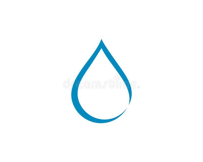 Water Drop Logo template vector icon illustration. Design vector illustration