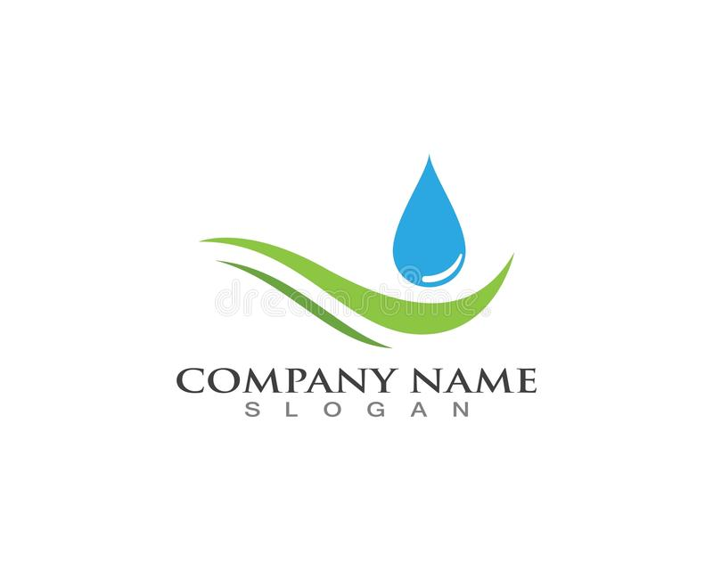 Water drop Logo Template vector illustration design.  vector illustration