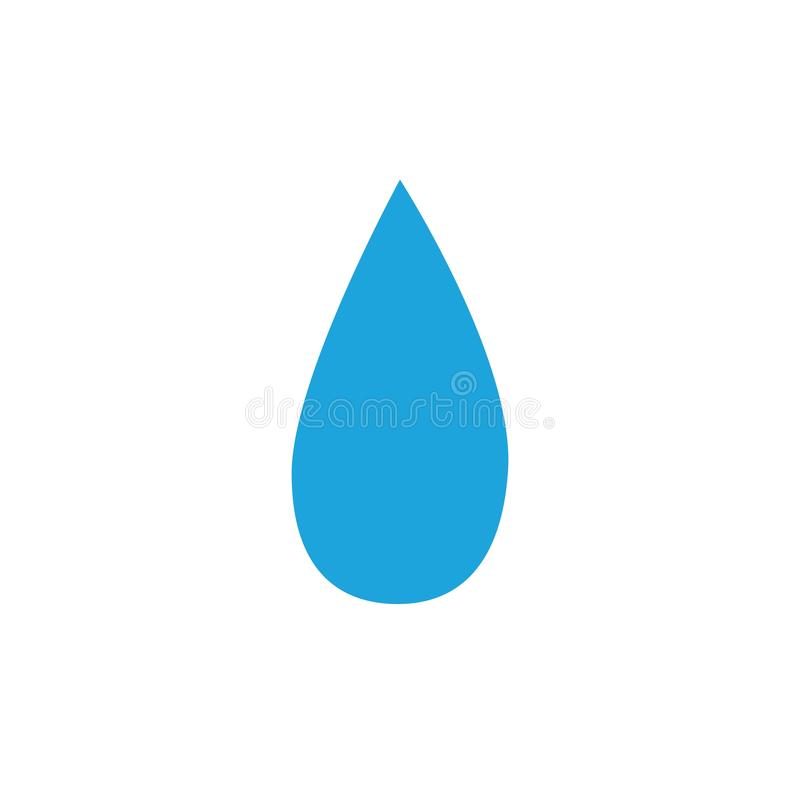 water drop Logo Template vector illustration design royalty free illustration