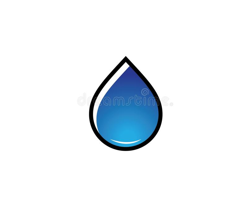 Water drop Logo Template vector illustration. Design vector illustration