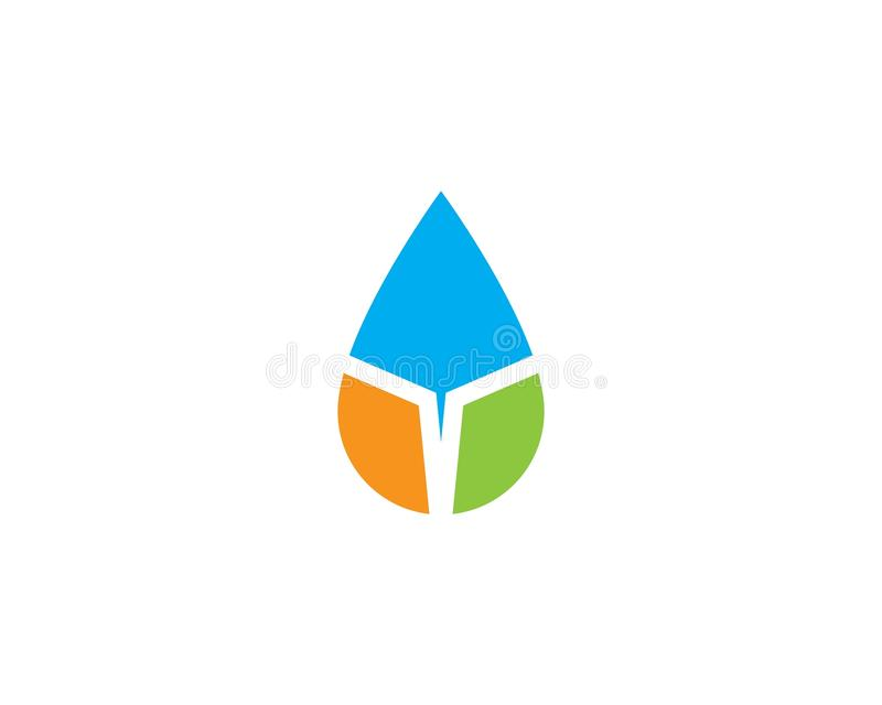 Water drop Logo Template. Vector illustration design vector illustration