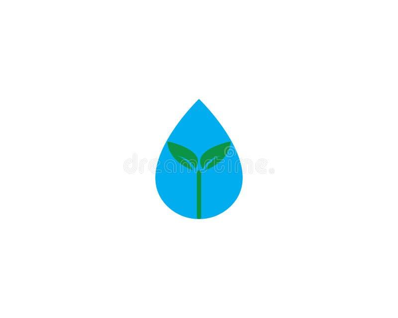 Water drop Logo. Template vector illustration design vector illustration