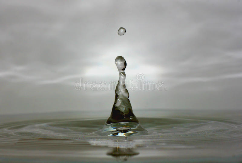 Water Drop Macro royalty free stock images