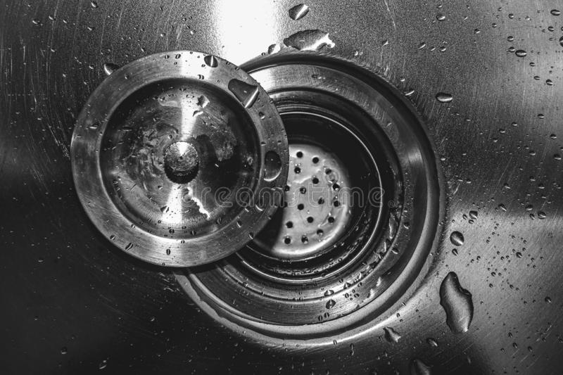 Drain In Sink Stock Image Image Of Waste Loss