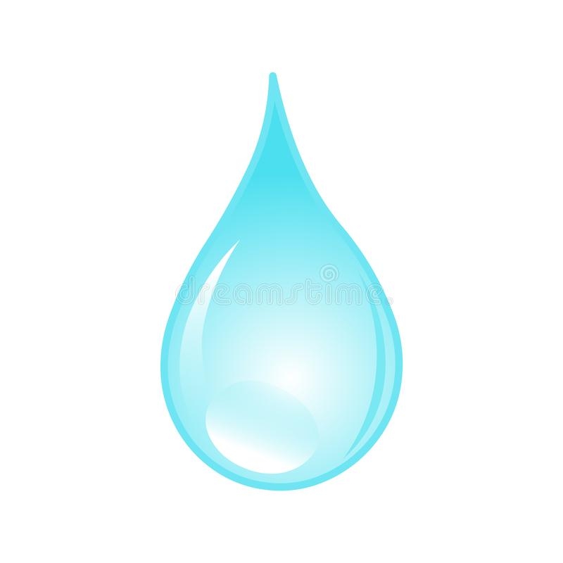 Water drop.Drop of water vector icon vector illustration