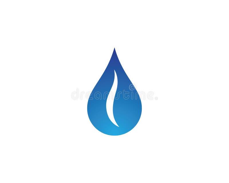 Water drop vector icon. Water drop logo template vector illustration design vector illustration