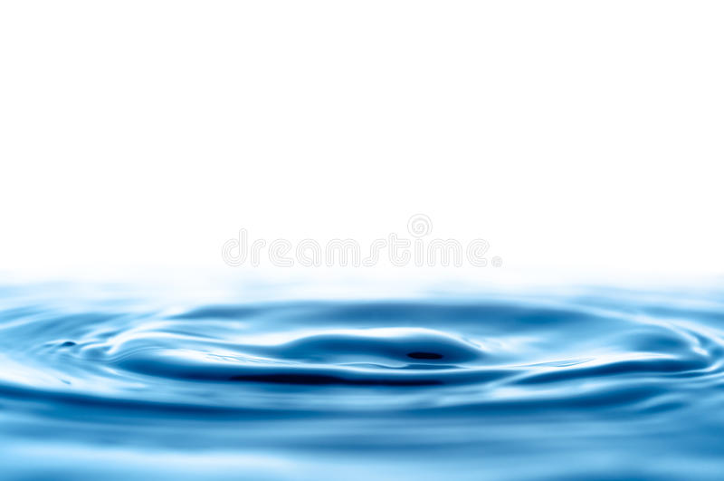 Water Drop Waves royalty free stock photography