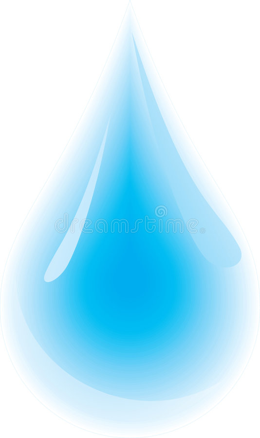 Download Water droplet stock vector. Illustration of graphic, purity - 3131308