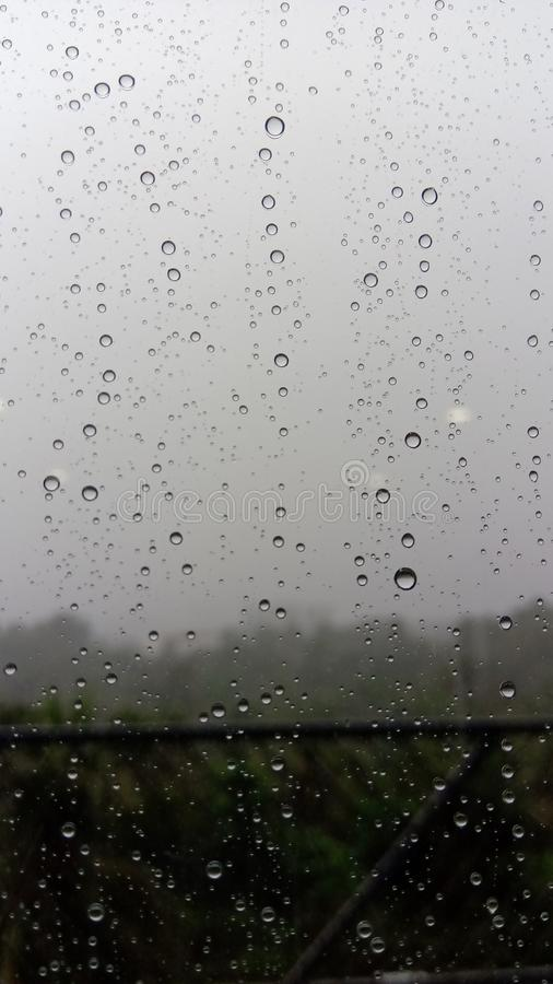 Water droplets on mirror royalty free stock photography